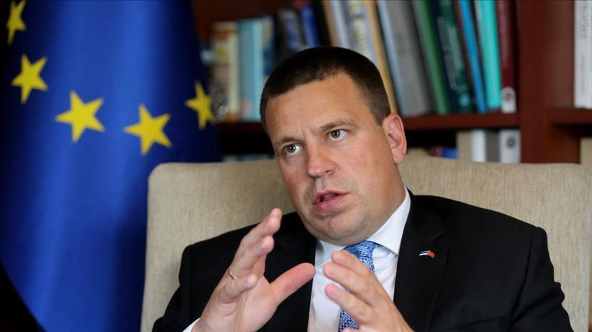 رئيس وزراء إستونيا: دعمنا وسندعم مفاوضات انضمام تركيا للاتحاد الأوروبي -  تركيا الآن