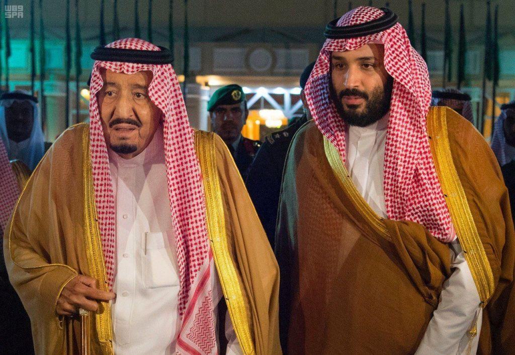 """أول ظهور لزوجة """"الملك سلمان"""" صاحبة الكلمة النافذة وأم محمد ..."""