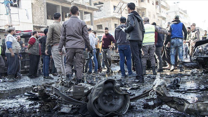 الاستخبارات التركية تقبض على منفذ تفجير  الباب  السورية   تركيا الآن