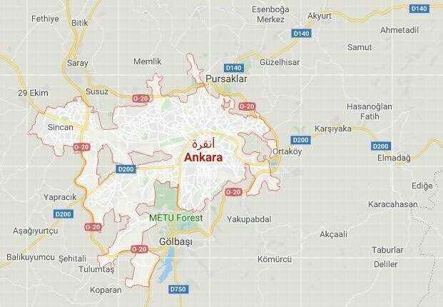 زلزال في أنقرة   تركيا الآن