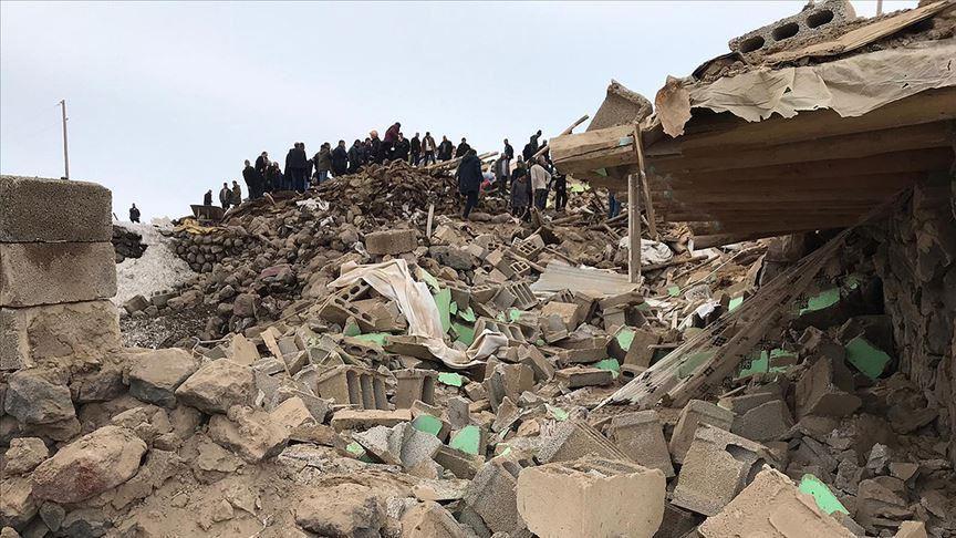 زلزال ولاية وان شرقي تركيا