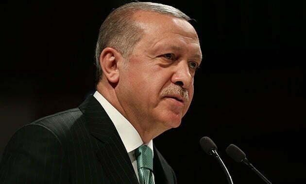 الرئيس اردوغان يرسل برقية تعزية   تركيا الآن