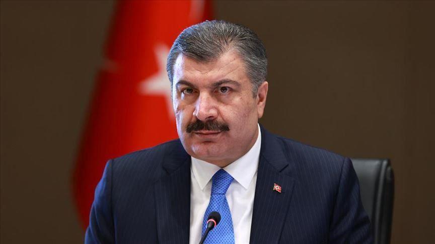 ن وزير الصحة التركي فخر الدين قوجة،