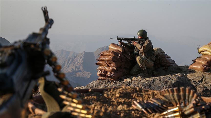 استشهاد جندي تركي