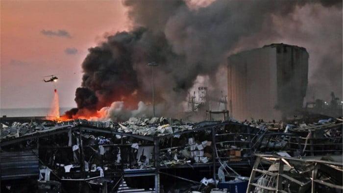 صور انفجار بيروت: صور لما قبل الحادث وما بعده