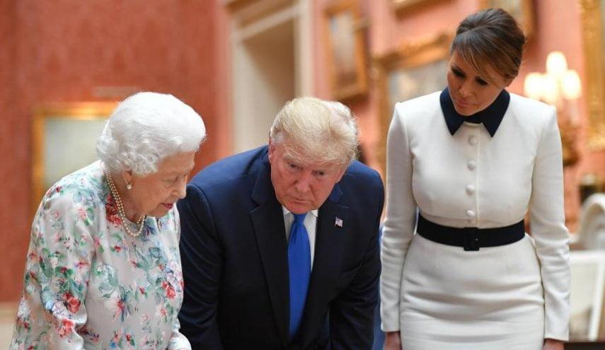 """لماذا تم رفض طلب ترامب النوم في قصر """" باكنغهام """" الملكي!"""