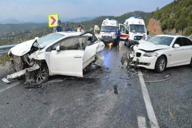 إصابات في حادثي سير بنفس المكان في اسطنبول