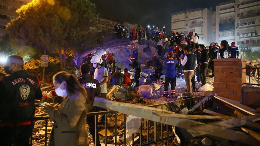 العالم يتضامن مع تركيا إثر زلزال إزمير