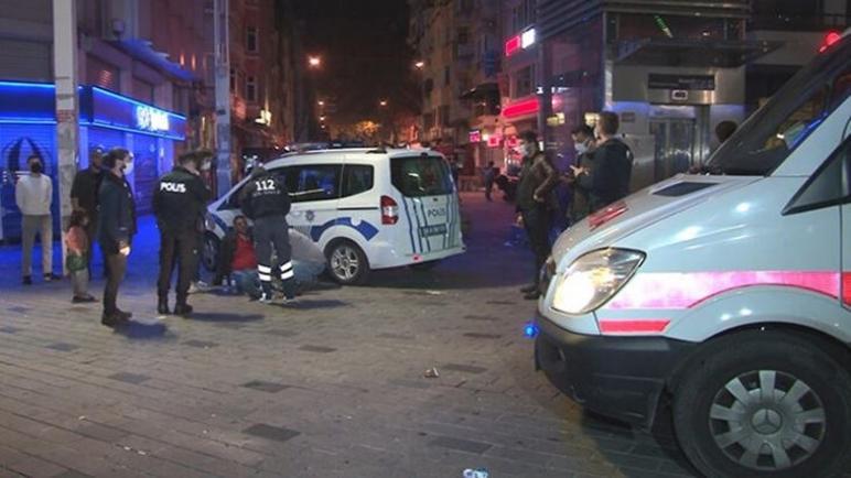 ميدان تقسيم يشهد هجوما بالسكاكين ليلة أمس والشرطة تتدخل