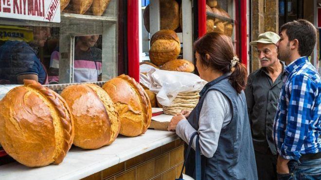 الخبز المعلق