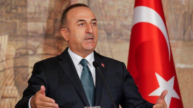 وزير الخارجية التركية يتحدث عن جريمة حرب