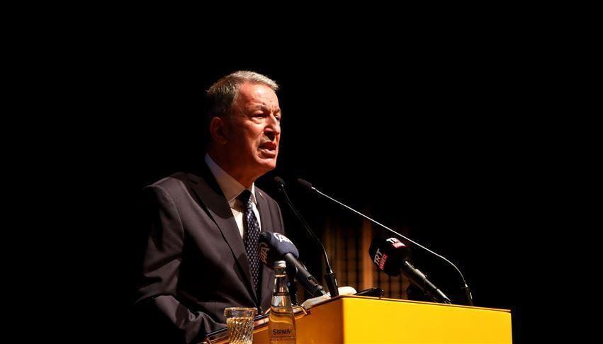"""وزير الدفاع التركي: """"لن يحل بالتدخل العسكري"""""""