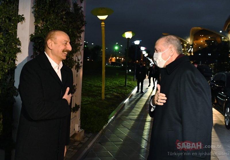 أردوغان يشارك في احتفالات نصر أذربيجان