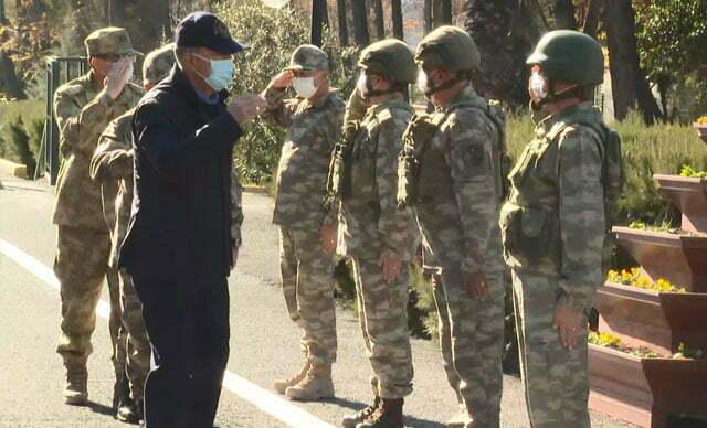 وزير الدفاع التركي يتفقد الحدود ويوجّه رسائل مهمة