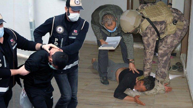 جانب من اعتقال أعضاء عصابة أضنة