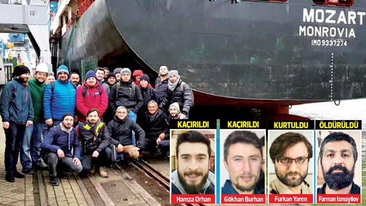 """طاقم سفينة """"موزارت"""" المختطف"""