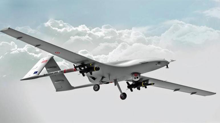 """طائرات """"بيرقدار"""" العسكرية التركية محلية الصنع"""