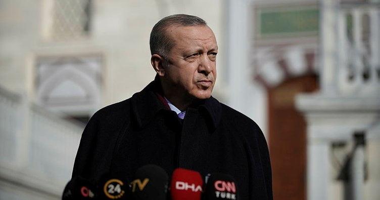 الرئيس أردوغان يجيب عن أسئلة الصحافة بعد صلاة الجمعة