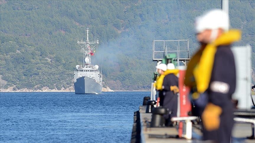 دراسة: البحرية التركية هي الأقوى في المنطقة