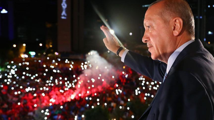 الرئيس رجب طيب أردوغان رئيس حزب العدالة والتنمية