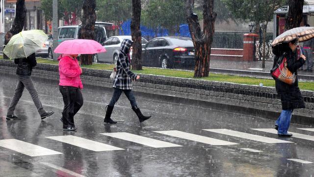 تحذير من أمطار غزيرة في 5 محافظات