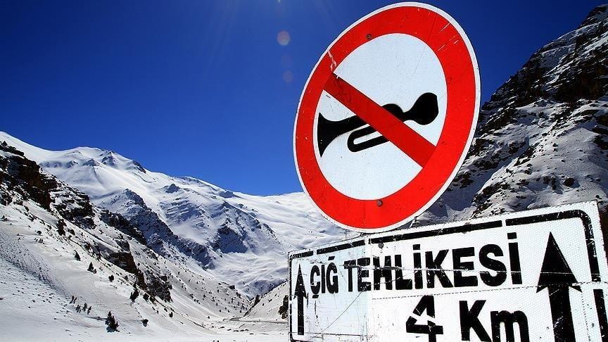 تحذير من انهيار جليدي في محافظات تركية