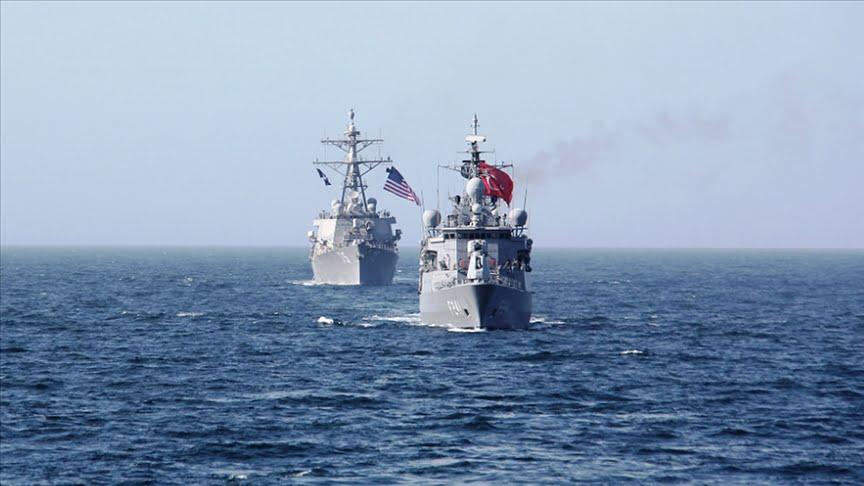 تدريب مشترك للبحرية التركية والأمريكية في البحر الأسود