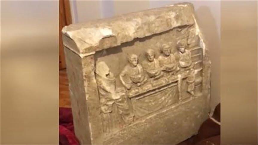 ضبط قطعة أثرية من العصر الروماني في تركيا