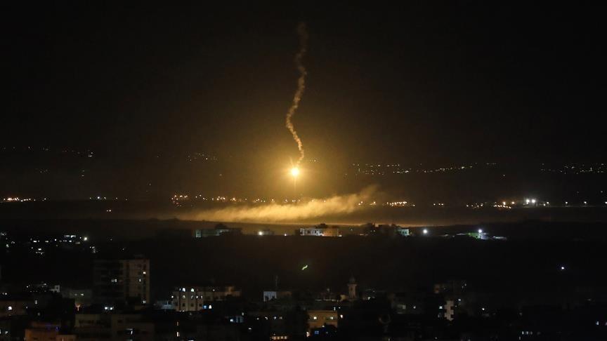 التصدي لهجمات صاروخية إسرائيلية على دمشق