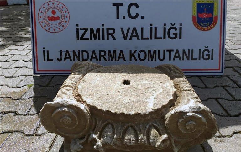 الأمن التركي يحبط تهريب قطعة أثرية غربي البلاد