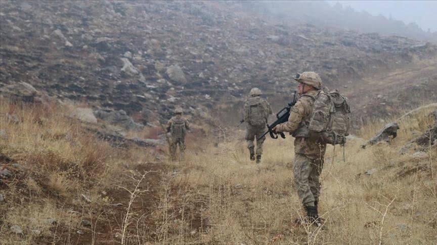 الداخلية التركية تطلق عملية واسعة لتطهير هذه المنطقة من الإرهابيين