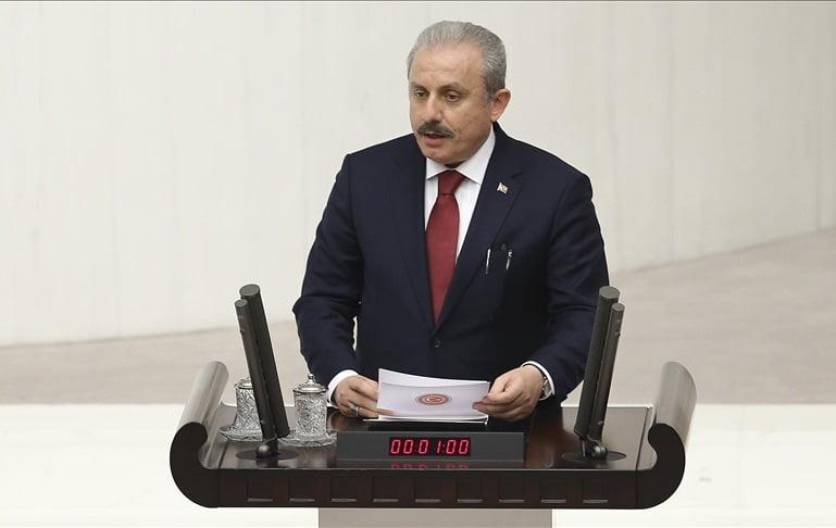 رئيس البرلمان التركي ينتقد نشاط منظمة غولن في مقدونيا الشمالية