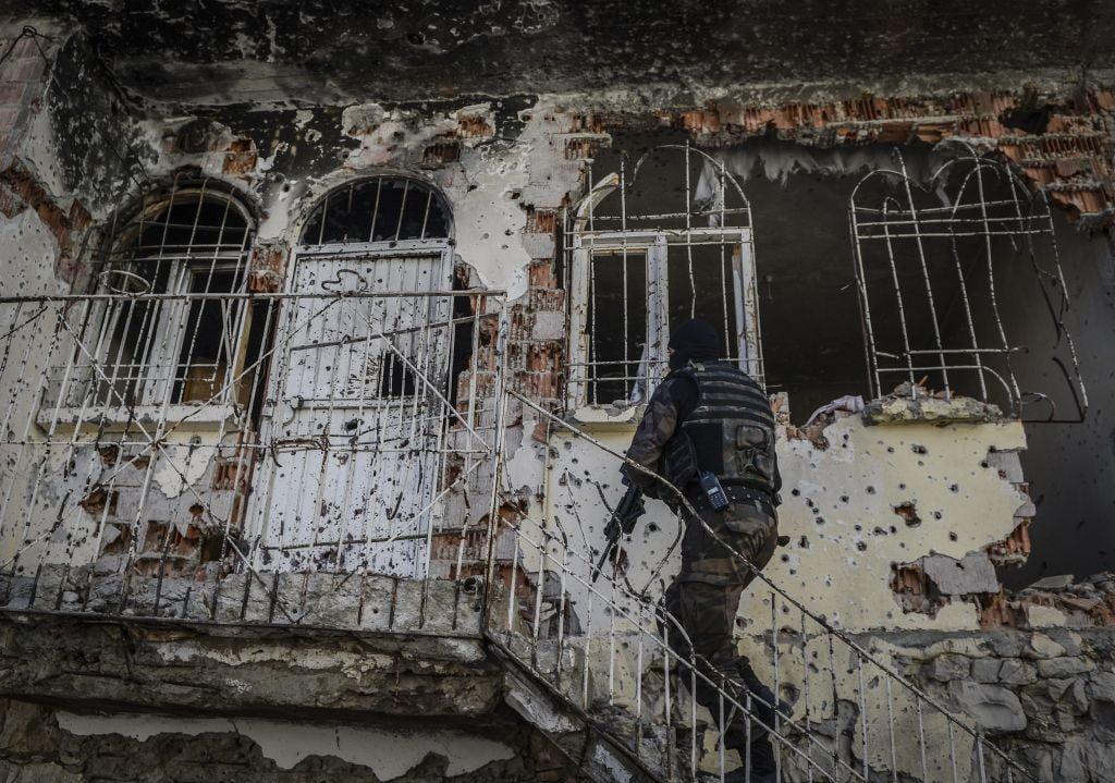 محاكمة 108 متهمين بأحداث احتجاجات كوباني الدامية في تركيا