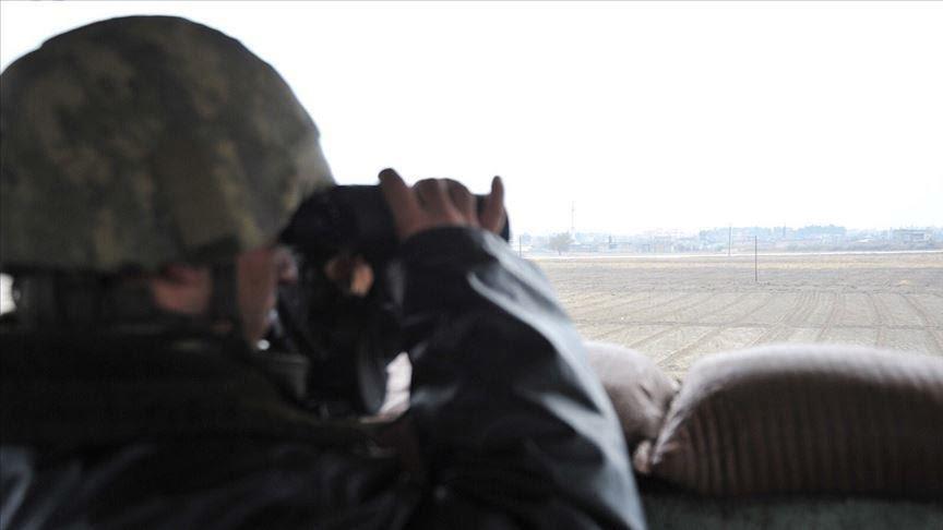 استسلام ثلاثة إرهابيين من حزب العمال الكردستاني جنوب شرق البلاد