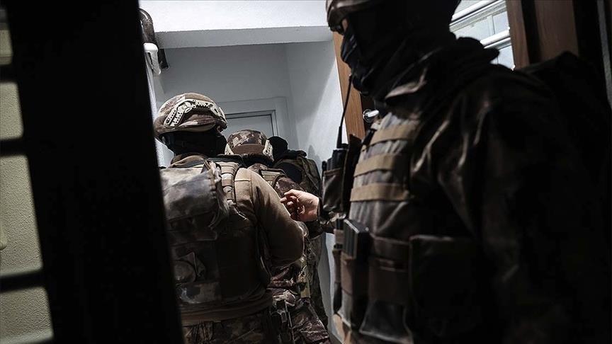 الأمن التركي يعتقل 12 شخصًا يشتبه بانتمائهم لتنظيم داعش الإرهابي