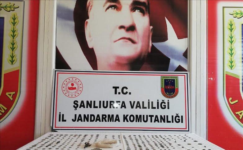 ضبط 523 قطعة أثرية جنوب شرق تركيا