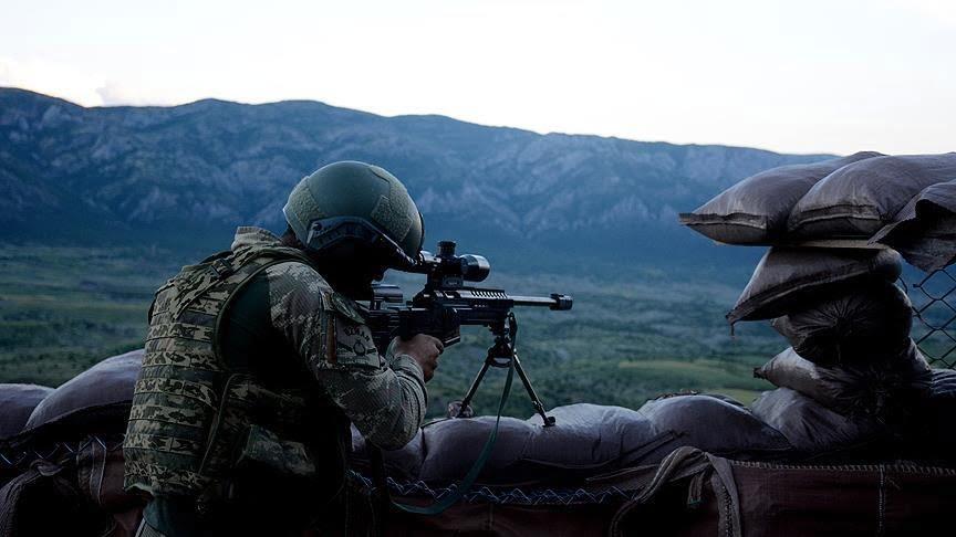 أحدهما مطلوب على النشرة البرتقالية.. تحييد إرهابيين جنوبي تركيا