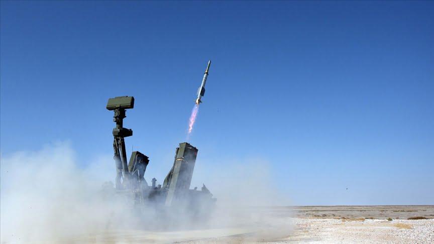 """تركيا: بدء التدريب الميداني على منظومة """"حصار"""" للدفاع الجوي"""