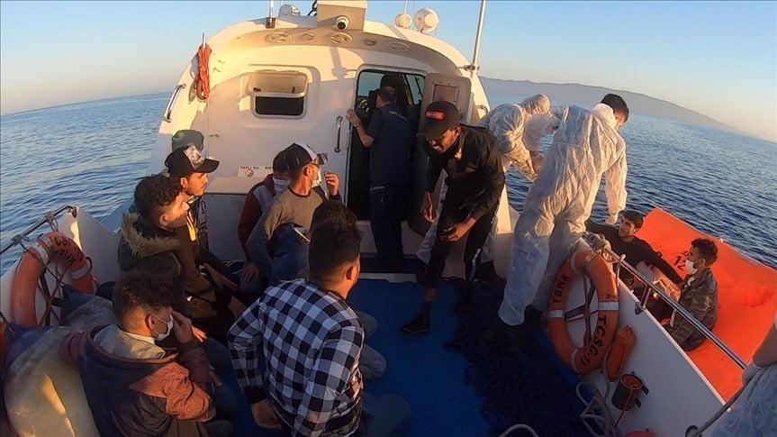 تركيا تنقذ 73 طالب لجوء قبالة سواحل بحر إيجة