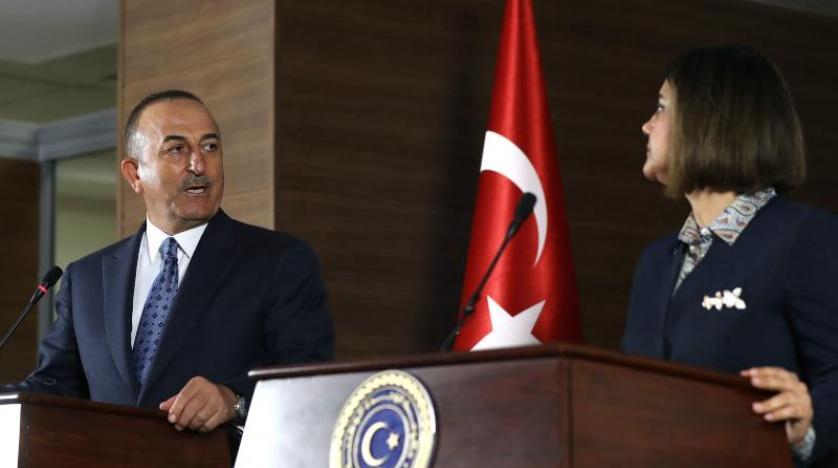 وزيرة الخارجية الليبية تطالب تركيا بالانسحاب من ليبيا.. كيف رد أوغلو عليها؟