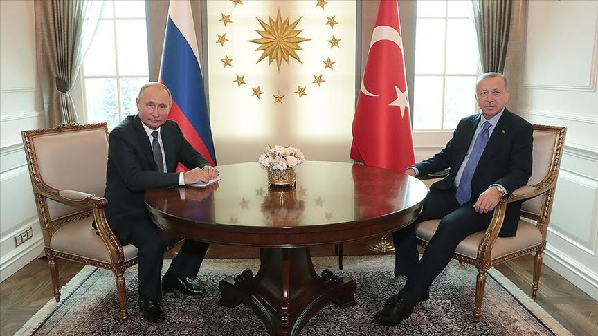 أردوغان يناقش في محادثة هاتفية مع بوتين إمكانية إرسال قوات دولية لفلسطين