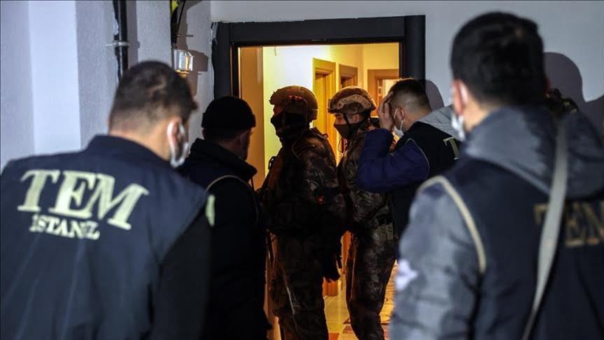القبض على ثمانية مشتبهين بصلاتهم بتنظيم داعش الإرهابي في إسطنبول