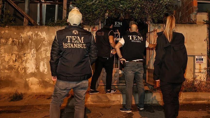 في حملة على الحزب الشيوعي.. الأمن التركي يعتقل 7 من المشتبه بهم في إسطنبول