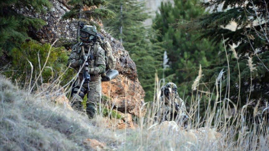 الجيش التركي يصادر كميات كبيرة من الأسلحة والذخائر شمالي العراق