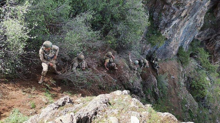 الجيش التركي يحيد إرهابيين شمالي العراق