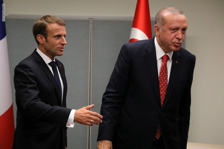 ماكرون يرغب في التحدث مع أردوغان