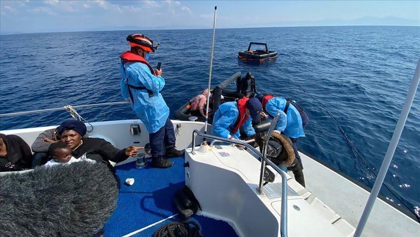إنقاذ 28 طالب لجوء قبالة سواحل إزمير التركية