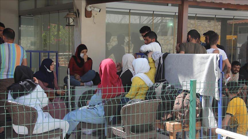 ضبط 48 مهاجرا غير نظامي غربي تركيا